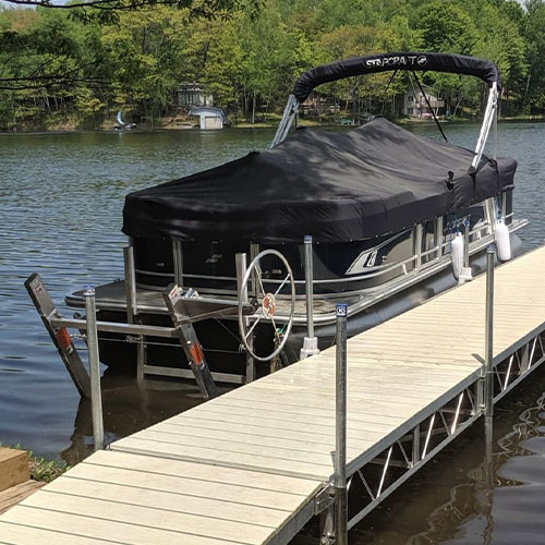 Pontoon Cantilever Lifts